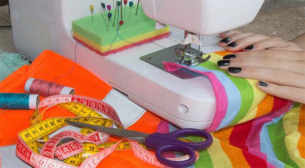 Embroidery Machine Working