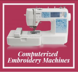 Computerized Embroidery Machines 2021