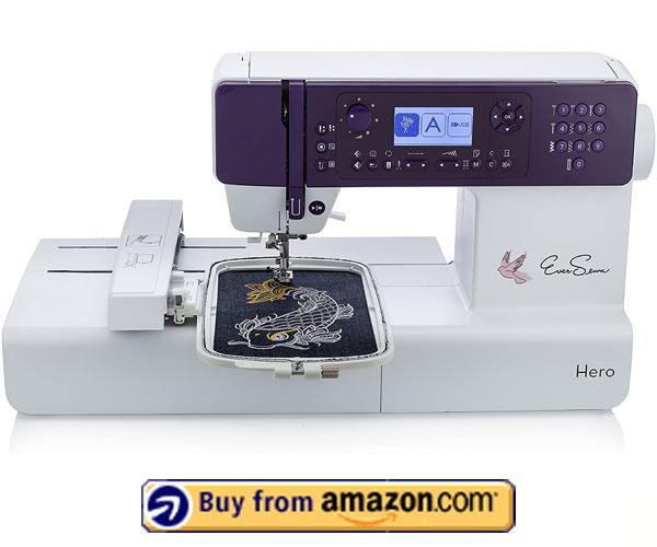 EverSewn Hero - Professional Embroidery Machine 2021