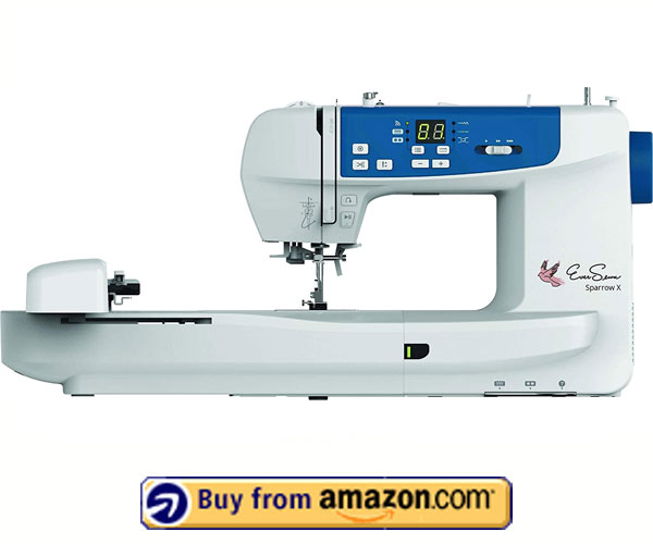 EverSewn Sparrow X - Best Embroidery Machine For Custom Design 2021
