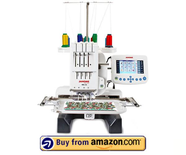 Janome MB-4S Embroidery Machine – Multi Needle Embroidery Machine 2021