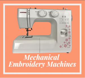 Mechanical Embroidery Machines 2021