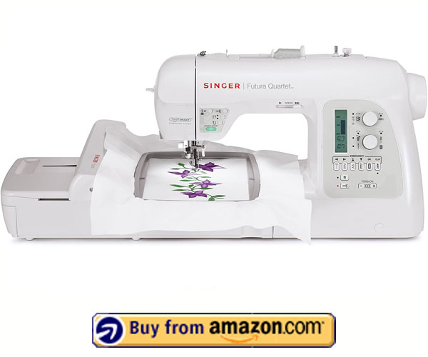 SINGER FUTURA SEQS-6700 - Best Commercial Embroidery Machine 2021