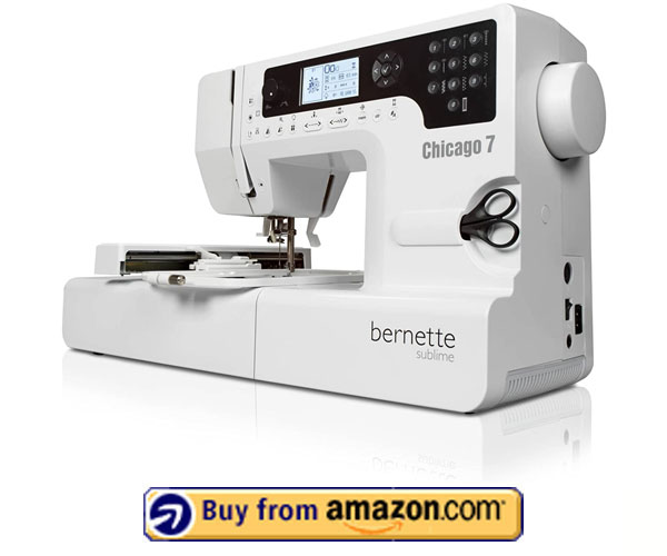 Bernina Bernette Chicago 7 – Best Commercial Patch Making Machine 2021