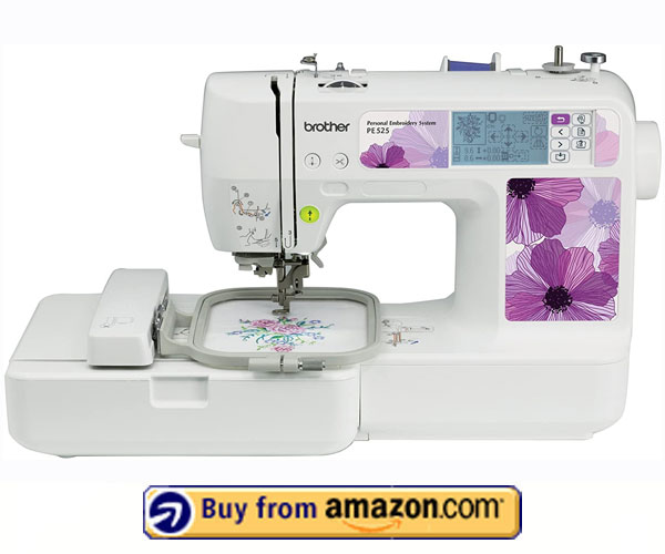 Brother PE525 – Best Beginners Embroidery Machine 2021