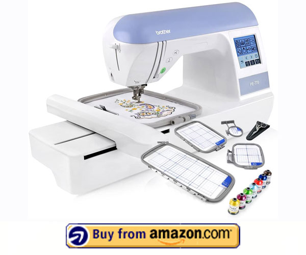 Brother PE770 – Best Embroidery Machine For Logos 2021