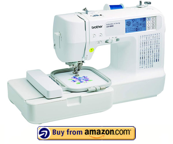 Brother RLB6800 Sewing and Embroidery Machine, White – Best Monogram Machine 2021