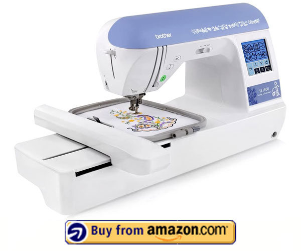 Brother SE1800 - Best Embroidery Machine For Custom Design 2021