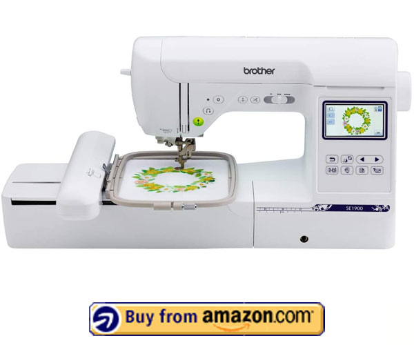 Brother SE1900 – Best Commercial Embroidery Machine 2021