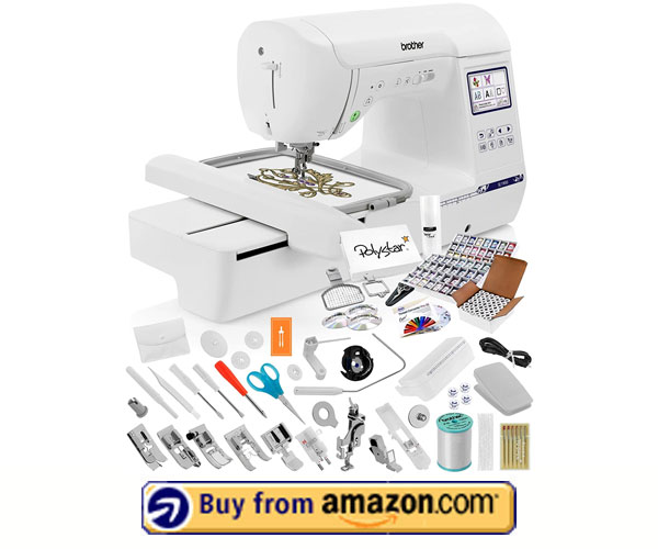 Brother SE1900 -Best Embroidery Machine For Custom Design 2021