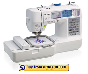 Brother SE400 - Best Embroidery Machine For Home Use 2021