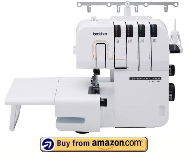 Brother ST4031HD - Best Serger For Heavy Fabrics 2021