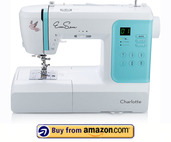 EverSewn Charlotte – Best Embroidery Machine For Beginners 2021