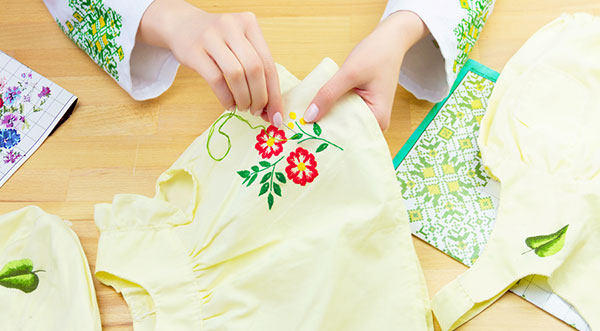How to Embroider a Shirt