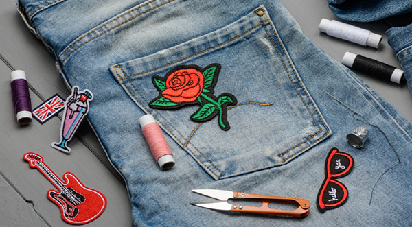 how to make embroidery patches