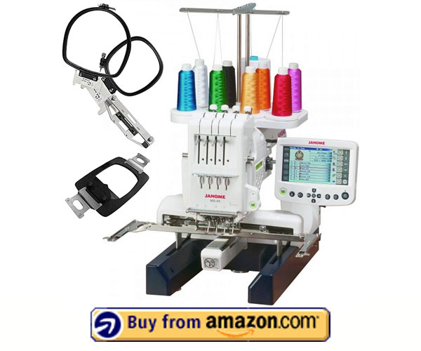 Janome MB-4S - Best Embroidery Machine For Home Business 2021