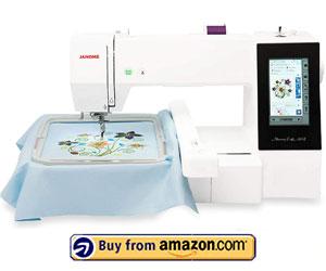 Janome Memory Craft 500E - Best Embroidery Machine For Custom Design 2021