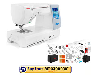 Janome Memory Craft Horizon 8200 QCP - Best Embroidery Machine For Quilting 2021