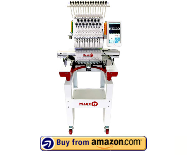 MakeIT Products and Equipment – Best Embroidery Machine For Home Business 2021