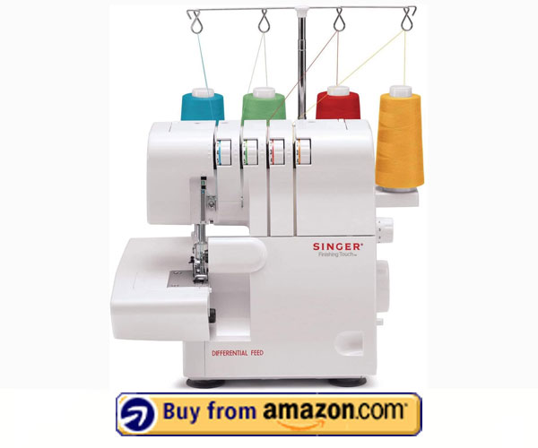SINGER 14SH654 Finishing Touch serger - Best Used Serger To Buy 2021