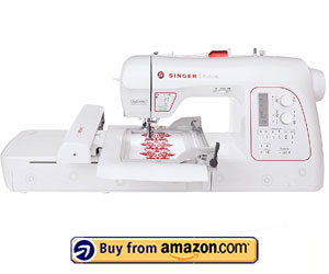SINGER Futura XL580 - Best Sewing and Hat Embroidery Machine 2021