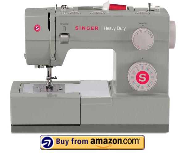 SINGER Heavy Duty 4452 - Best Embroidery Machine 2021