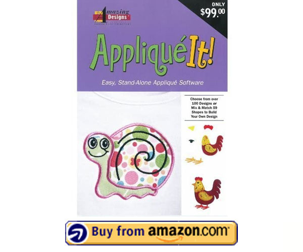 Amazing Designs Applique IT - Free Embroidery Software for Brother 2021