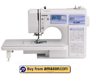Brother HC1850 - Best Monogramming Sewing Machine 2021