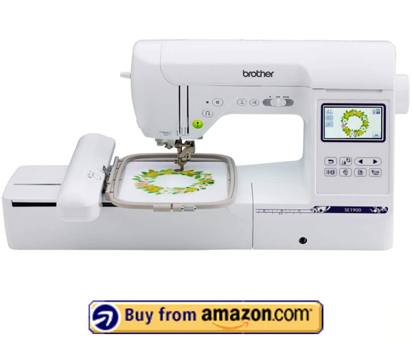 Brother SE1900 – Best Embroidery Machine For Beginners 2021