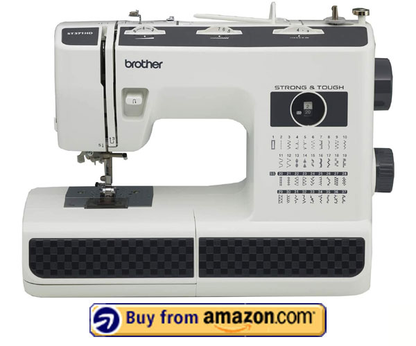 Brother ST371HD - Best Embroidery Machine for Beginners 2021