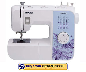 Brother XM2701 - Best Light Weight Sewing Machine 2021