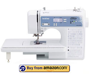 Brother XR9550PRW - Best Brother Computerized Sewing Machine 2021