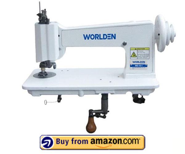 Handle Operated Single Needle - Cornely Chain Stitch Embroidery Machine 2021