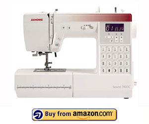 Janome 740DC - Best Janome Computerized Sewing Machine 2021