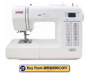 Janome 8077 - Best Janome Sewing Machine 2021