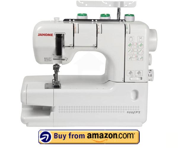Janome CoverPro Coverstitch Machine – Best Industrial Chain Stitch Machine 2021
