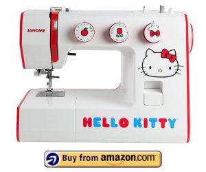 Janome Hello Kitty Machine - Best Inexpensive Sewing Machine 2021