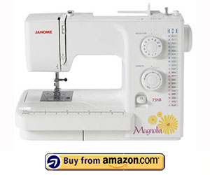 Janome Magnolia 7318 - Best Easy Sewing Machine 2021