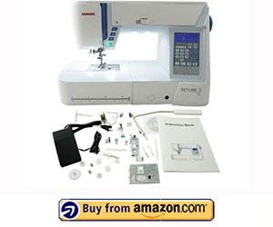 Janome S5 - Best Janome Computerized Sewing Machine 2021