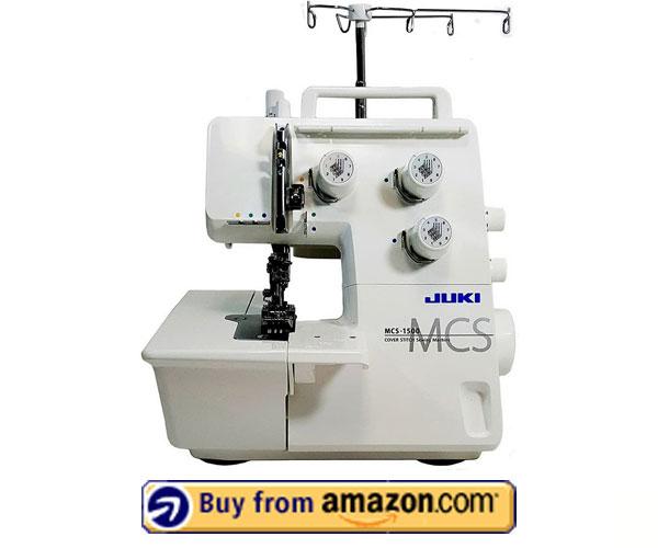 Juki MCS-1500 – Best Chain Stitch Embroidery Machine 2021