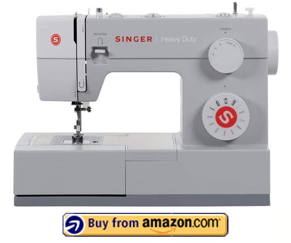 SINGER Heavy Duty 4411 - Best Embroidery Machine 2021
