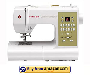 Singer 7469Q Confidence - Best Computerized Quilting Sewing Machine 2021