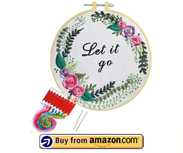 Artilife Cross Stitch Hand Embroidery Kit - Funny Embroidery Kit 2021