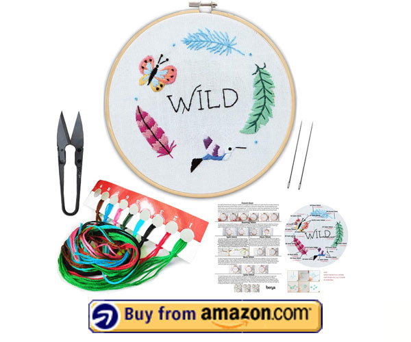 BERYA Needlepoint Kits - Best Embroidery Kits For Adults 2021