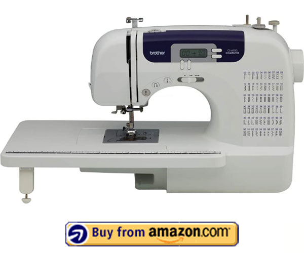 Brother CS6000i – Best Sewing Machine For Embroidery And Quilting 2021