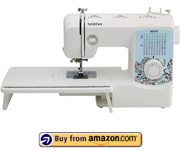 Brother XR3774 – Best Sewing Machine 2021