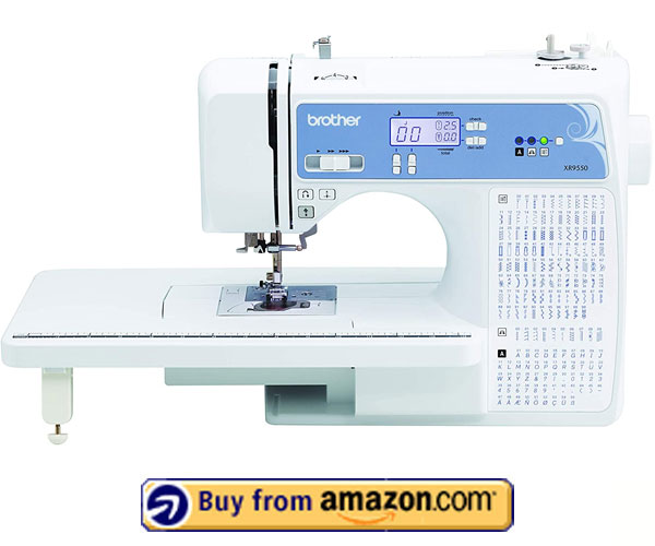 Brother XR9550 – Computerized Sewing & Quilting Machine 2021