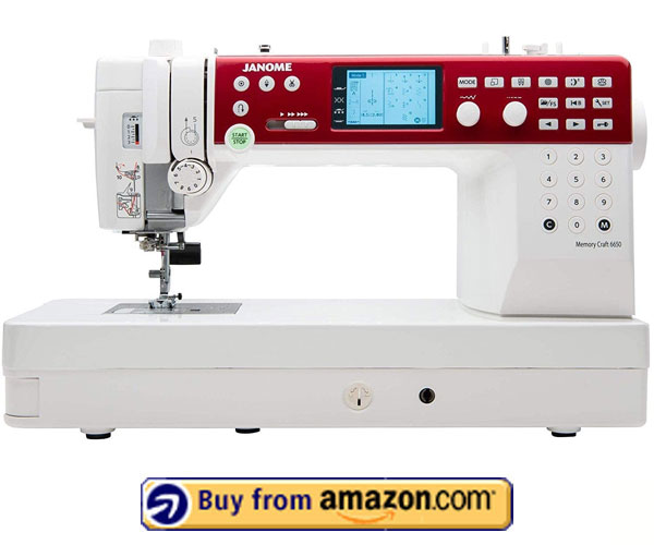 Janome MC6650 – Best Sewing Machine For Home 2021