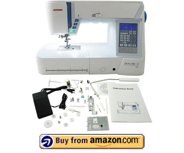 Janome Skyline S5 – Professional Embroidery Machine 2020
