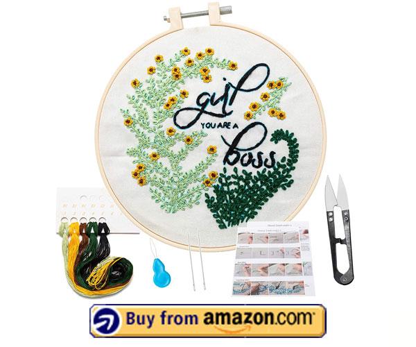 KHALEE - Modern Embroidery Kit 2021